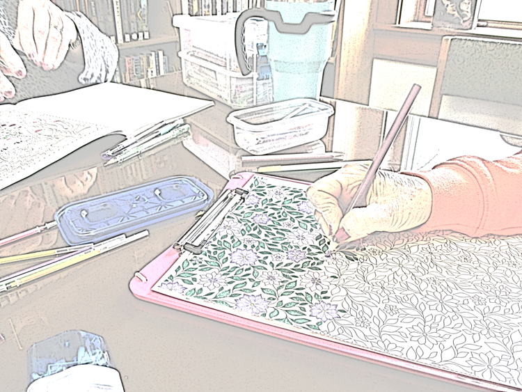 Adult Coloring @ Shenandoah Public Library