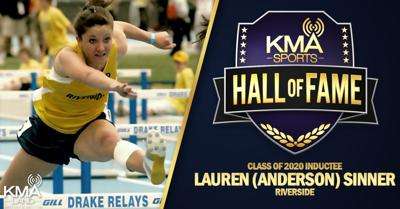 KMA Sports Hall of Fame Lauren Anderson Sinner