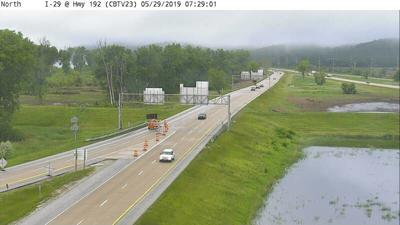 Portion of I-29 closed due to flooding in Council Bluffs