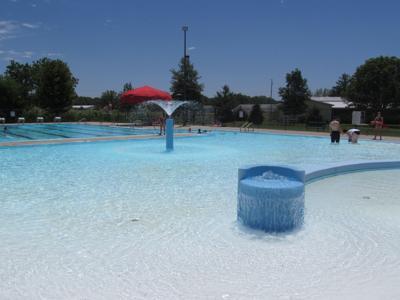 Wilson Aquatic Center in Shenandoah