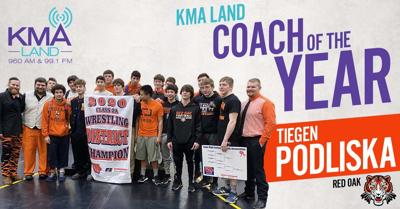 KMAland Wrestling Coach of the Year Podliska