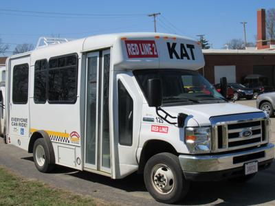 Knox Area Transit vehicle