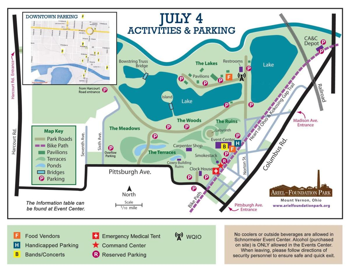 Ariel-Foundation Park set for July 4 concerts and city