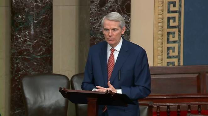 Rob Portman on Senate Floor