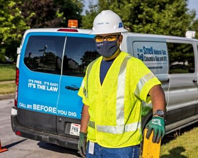 Columbia Gas worker