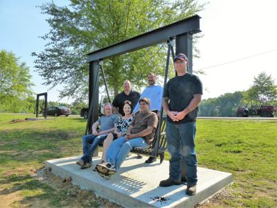 New Af Park Sunset Swings Present Opportunity To Honor Loved