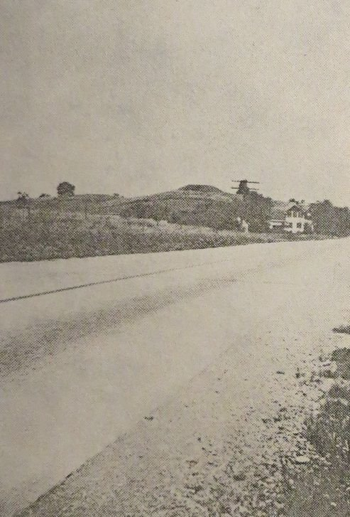 Rowley Mound circa 1940