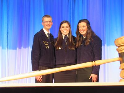 FFA state officers from Knox County
