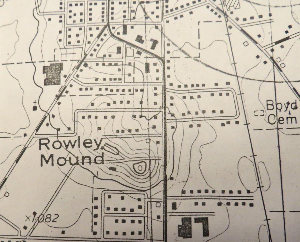 Rowley Mound Map