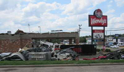 Wendy's demo Coshocton Ave