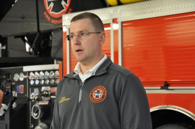 Mount Vernon fire chief Chad Christopher