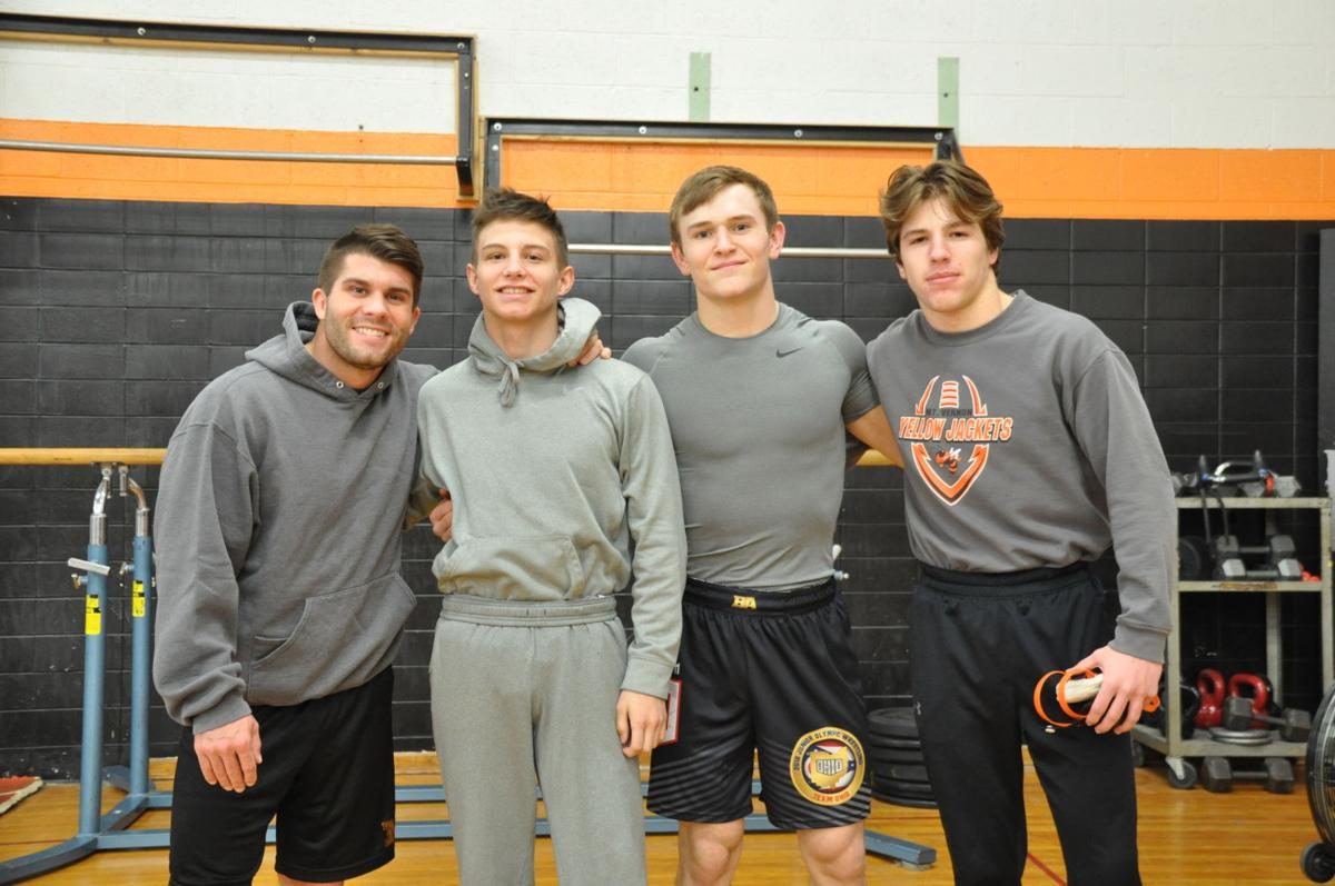 Mount Vernon state wrestlers