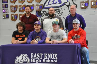 East Knox signing day seniors