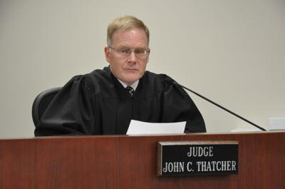 Judge John Thatcher on the bench