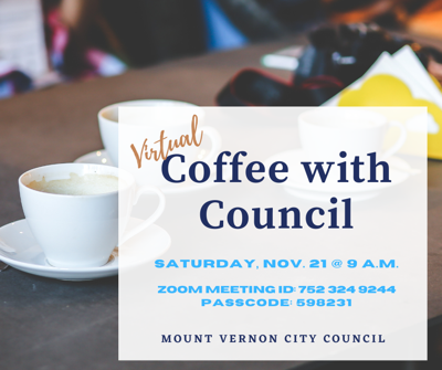Coffee with Council Nov 21