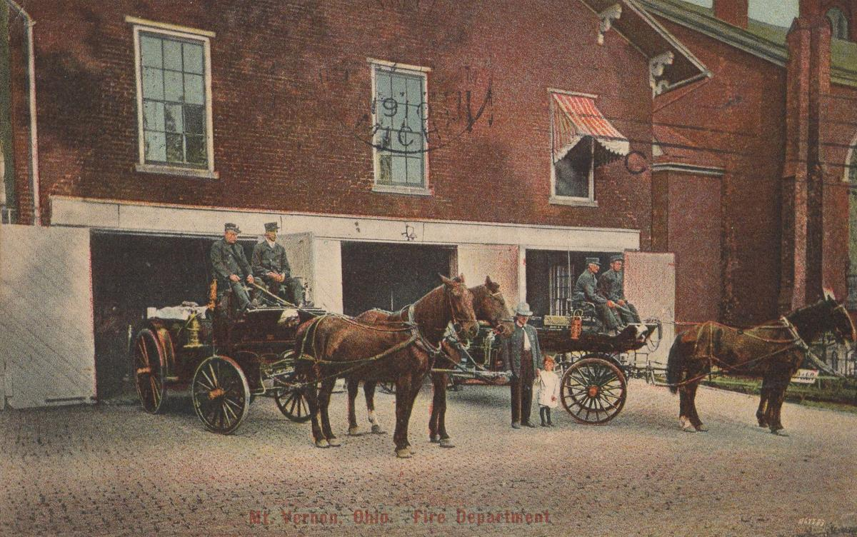 1910 Mount Vernon fire department 1910