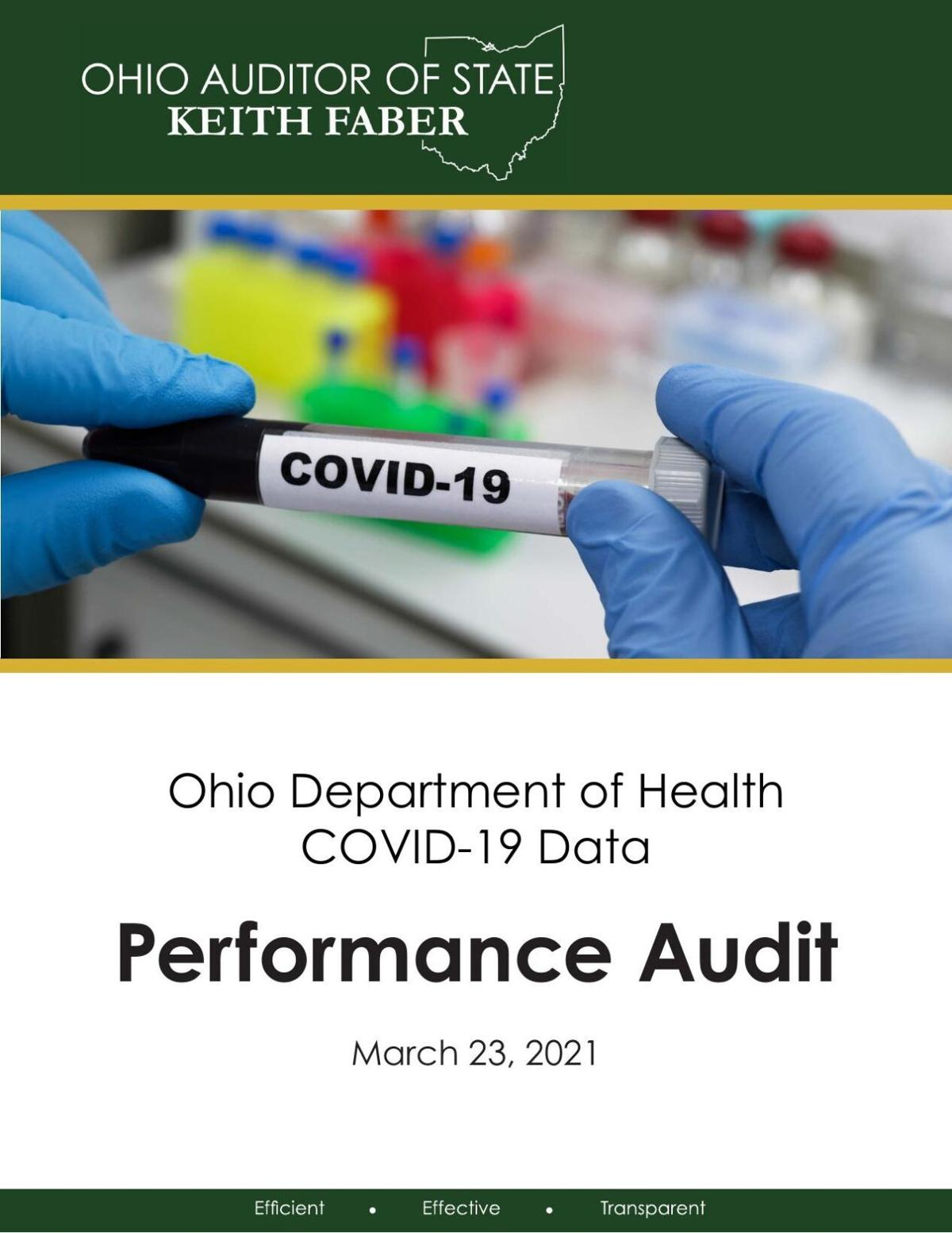 Audit of ODH COVID