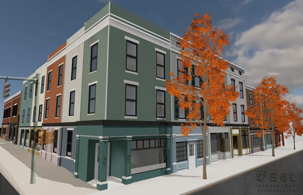 New downtown apartments rendering