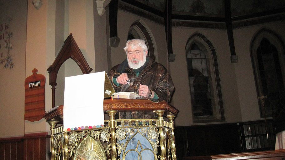 Turner in the Pulpit