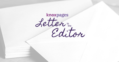 Knox Pages Letter to the Editor logo