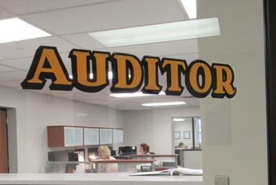 Knox County Auditor door