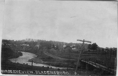 Bladensburg bird's eye view