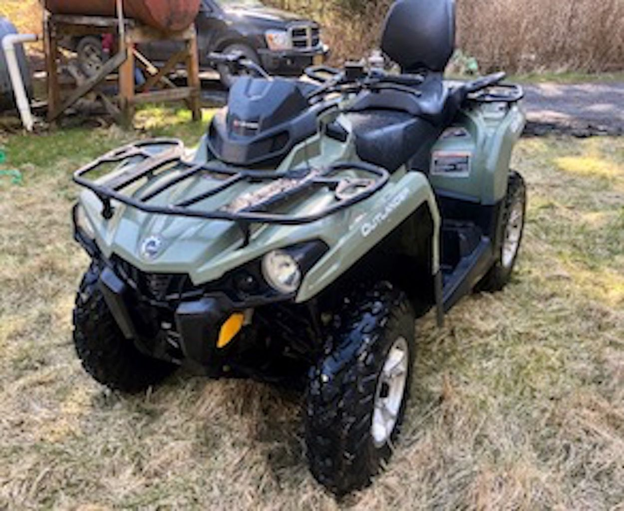 Bargain ATV for powerful summer fun! 2018 Can-Am Outlande... image 1