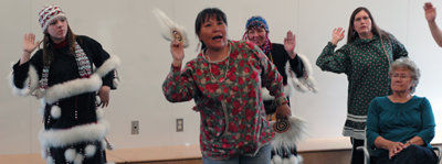 Three-day workshop revives lost art of creating Alutiiq dances