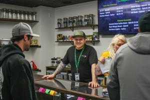 High Rise marijuana store opening 3