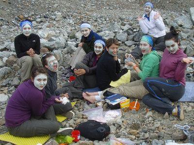 Alaska Science Forum: Girls on Ice program visits Gulkana Glacier