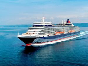 Cunard Queen Elizabeth cruise ship 2019