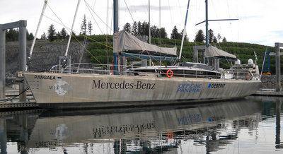 Northwest Passage-bound sailboat makes stop in Kodiak