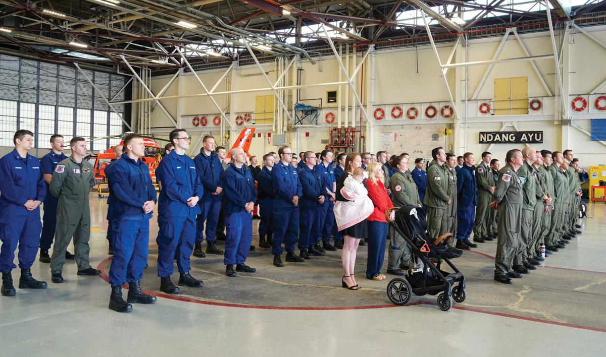 US Coast Guard C-130 pilot recognized for 'harrowing' 2019 flight