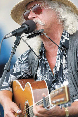 Arlo Guthrie to perform on Tuesday