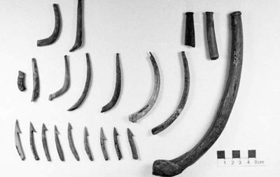 Fishhook parts