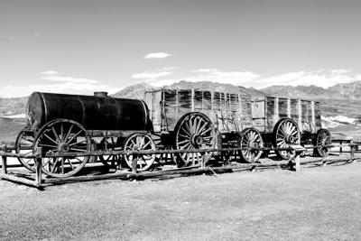 Death Valley and 20-mule-team borax