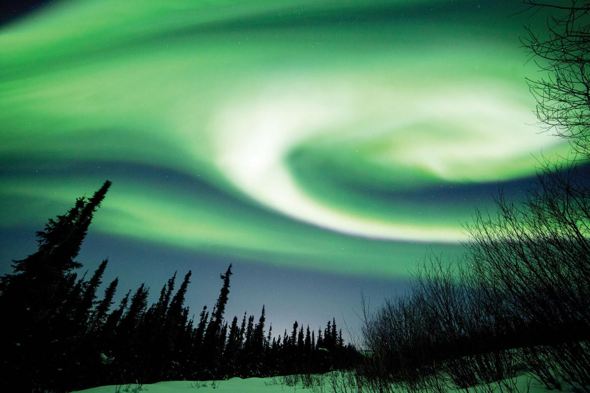 Chasing after the aurora borealis