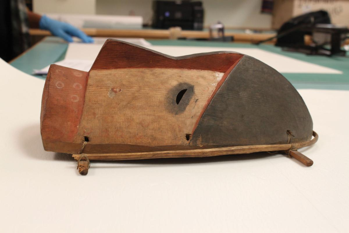 19th c. artifact at Alutiiq Museum