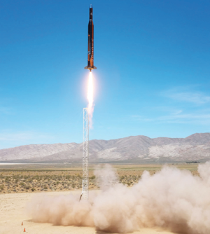 "<p class=""p1""> </p><p class=""p2"">A rocket launch from Arizona-based Vector, an Alaska Aerospace customer. Another commercial spaceflight company has plans to launch next month from Kodiak. Courtesy photo</p>"