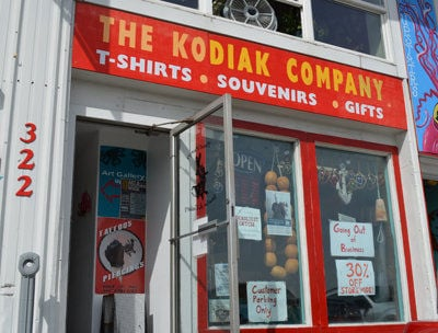 Kodiak Company store prepares to go out of business