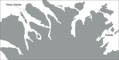 Uganik map