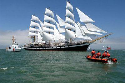 Famed Russian sailing ship will return to Kodiak