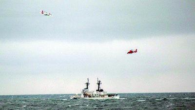 Coast Guard vessel returns home to Kodiak after Bering Sea