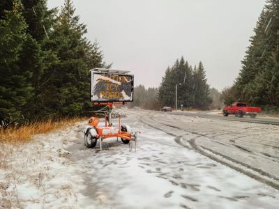 Accidents on icy roads prompt warnings from police