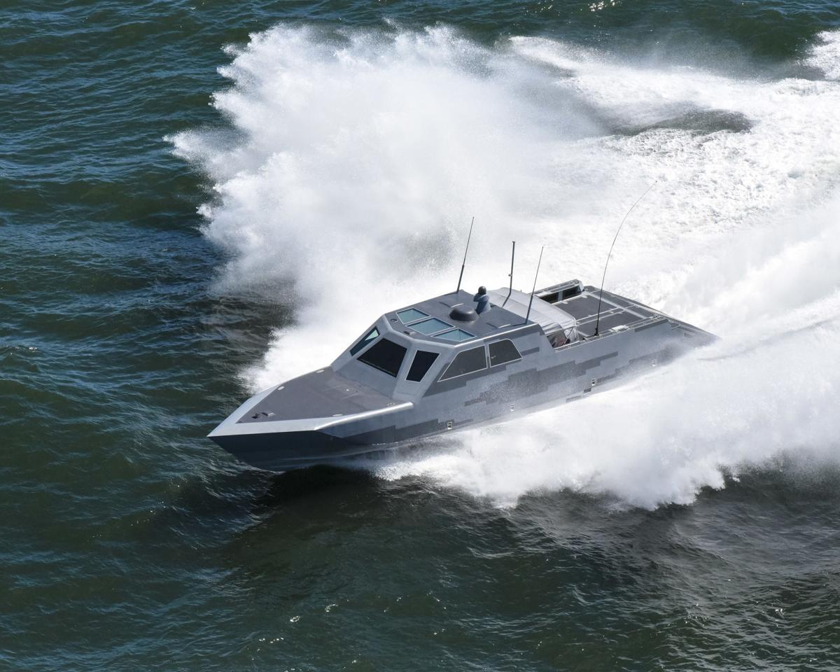 Coast Guard and Navy vessels collide in Womens Bay