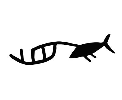 Alutiiq Petroglyph