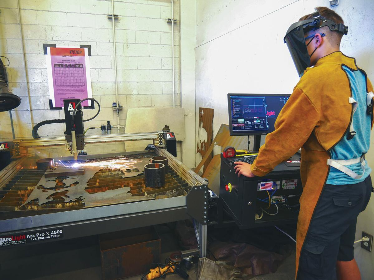 KHS students weld their mark on school district