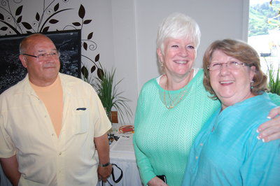 David And Suzi Olsen With Pam Frost (middle.)