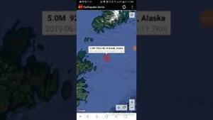 Kodiak, Alaska Earthquake June 7th, 2019