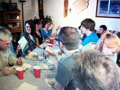 Sharing Thanksgiving